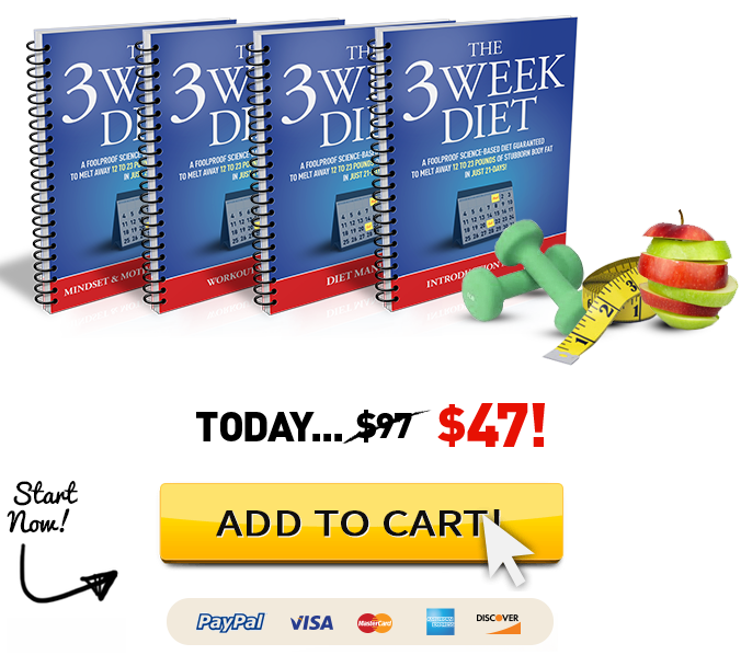 3 Weeks Diet Review – Is Brian Flatt 3 Week Diet Plan Scam ...