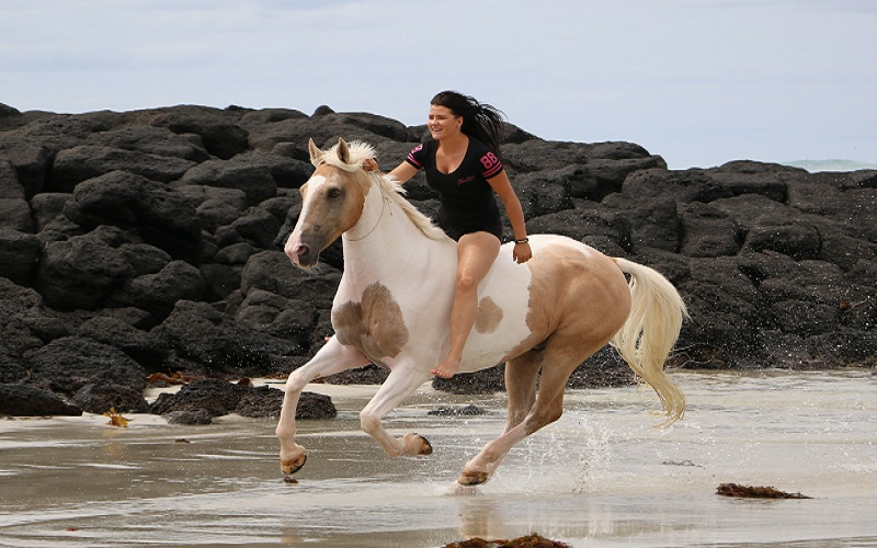 Horse riding for fitness