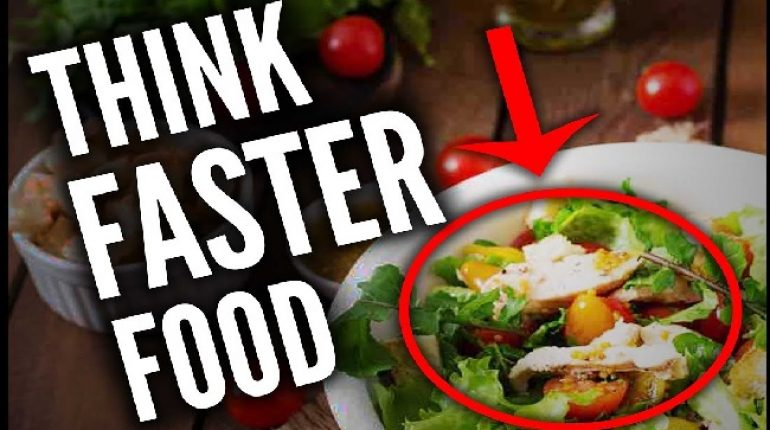 Diet Which Helps You To Think Faster
